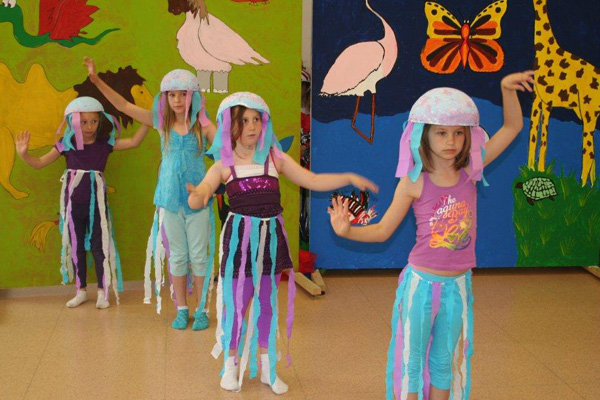 theater mit kindergartenkindern